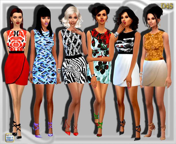 Sims 4 Day Dress at Dreaming 4 Sims