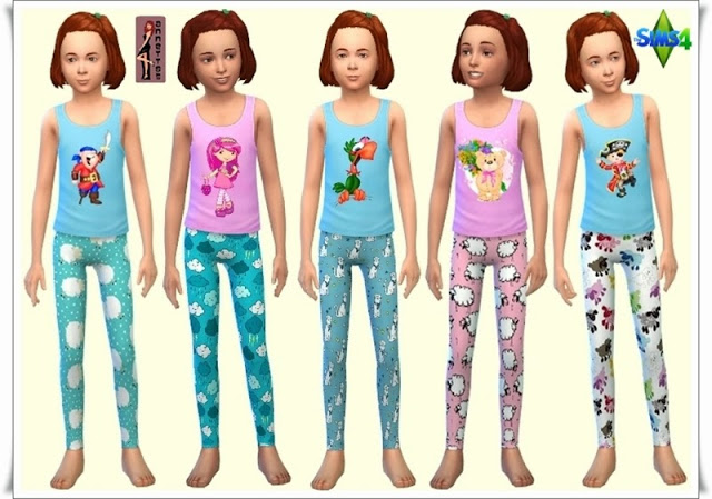 Sleepwear for Kids at Annett's Sims 4 Welt image 4613 Sims 4 Updates