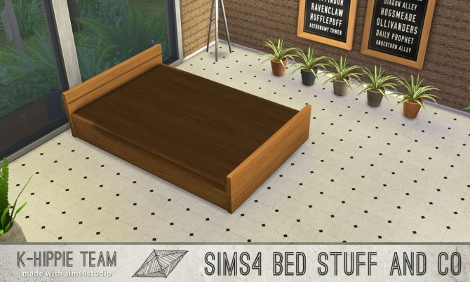 5 bed frames Doublepod volume 1 at K hippie image 4624 670x402 Sims 4 Updates