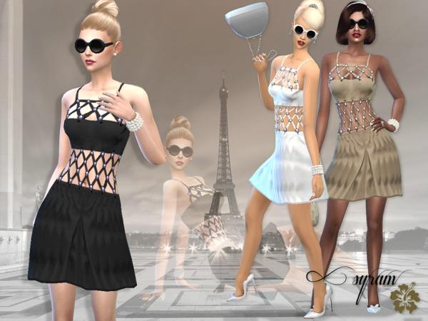 Sims 4 Paloma VDress by EsyraM at TSR
