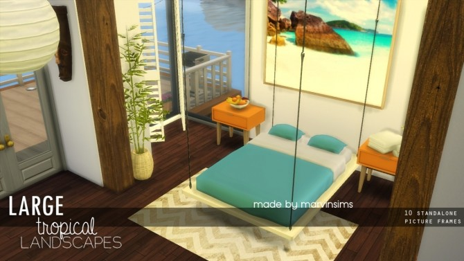Sims 4 Large Tropical Landscapes at Marvin Sims