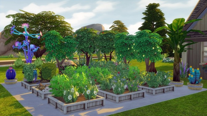 Sims 4 Green Thumb Talks (Perfect Gardening) by egureh at Mod The Sims