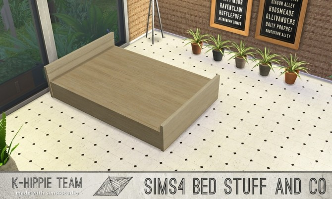 5 bed frames Doublepod volume 1 at K hippie image 4827 670x402 Sims 4 Updates