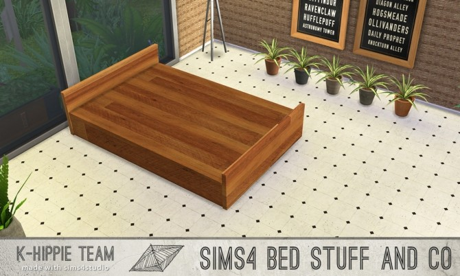5 bed frames Doublepod volume 1 at K hippie image 4923 670x402 Sims 4 Updates