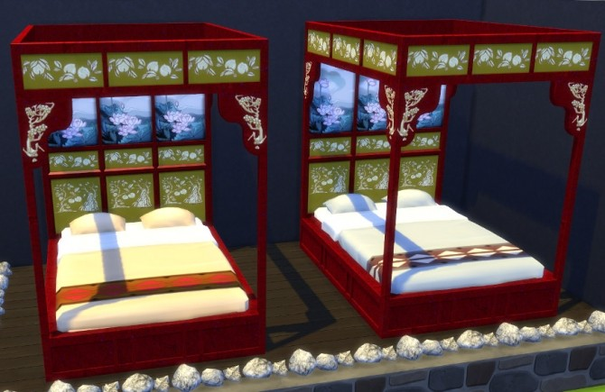 Asian Beds at Leander Belgraves image 502 670x435 Sims 4 Updates