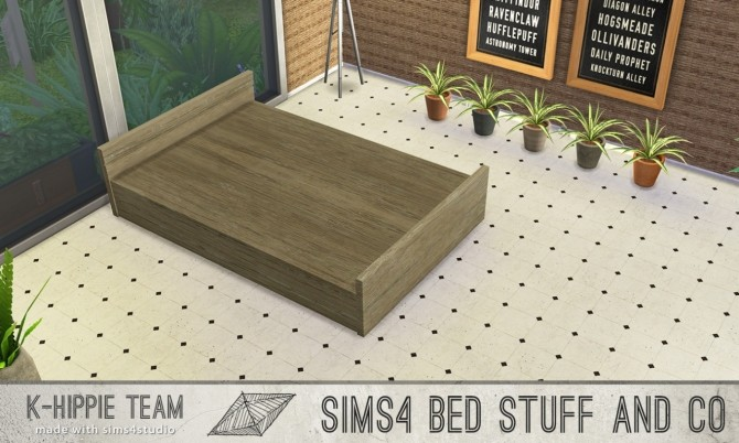5 bed frames Doublepod volume 1 at K hippie image 5023 670x402 Sims 4 Updates