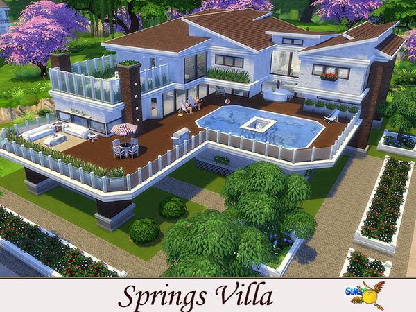 springs villa by evi at tsr sims 4 updates
