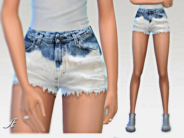 Ombre Shorts by Apathie at TSR image 5124 Sims 4 Updates