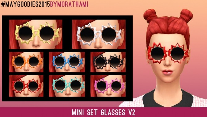 Frenzy Glasses at MoraThami image 5222 670x377 Sims 4 Updates