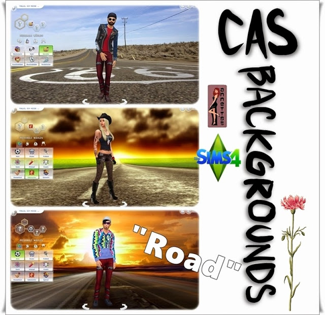 Road CAS Backgrounds at Annett's Sims 4 Welt image 524 Sims 4 Updates