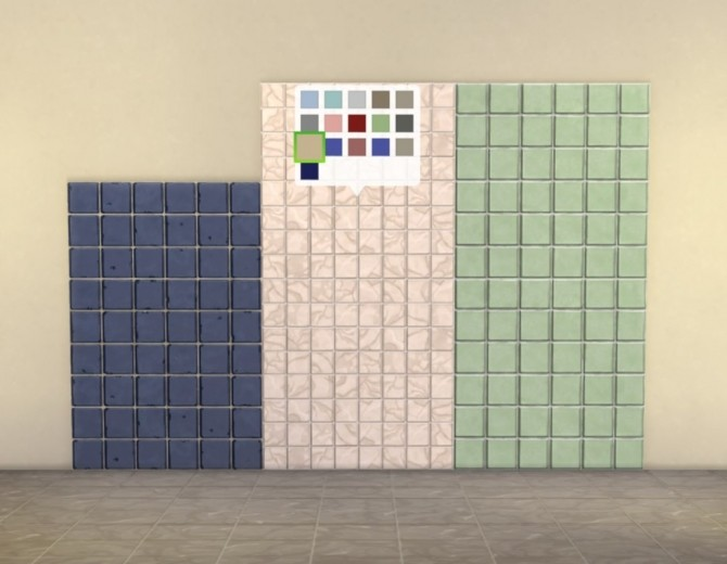 Modular Small Tiles Panels by plasticbox at Mod The Sims image 531 670x520 Sims 4 Updates