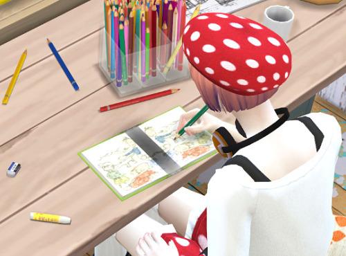 Sims 4 Notebook V2.1 recolor at Imadako