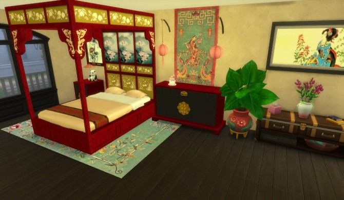 Asian Beds at Leander Belgraves image 532 670x391 Sims 4 Updates