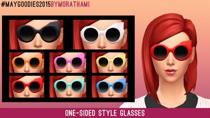 Frenzy Glasses at MoraThami image 5321 670x377 Sims 4 Updates