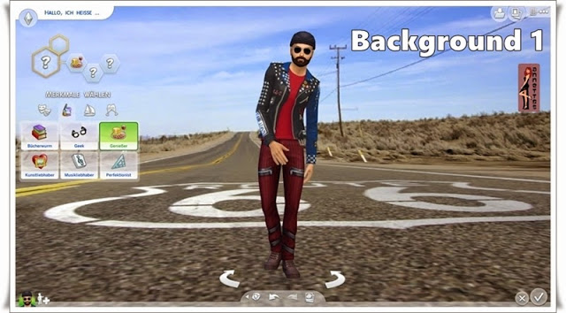 Road CAS Backgrounds at Annett's Sims 4 Welt image 534 Sims 4 Updates