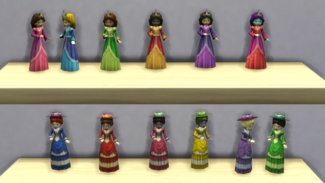 Playable Dollhouse Toys By K9db At Mod The Sims 187 Sims 4