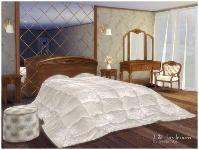 Lilit bedroom at Sims by Severinka image 540 670x505 Sims 4 Updates