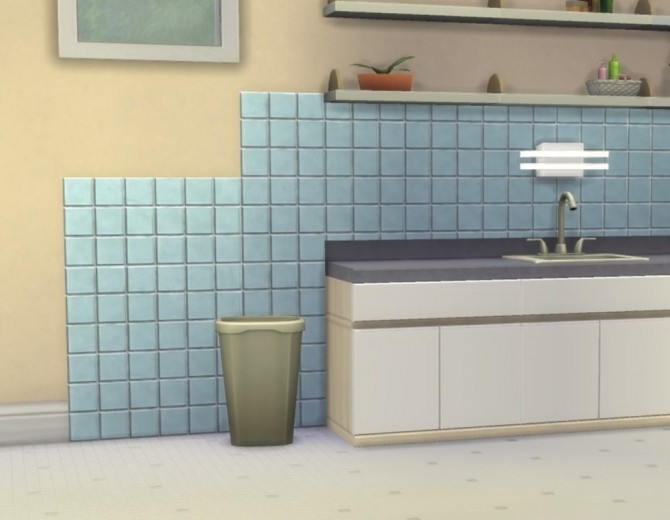 Modular Small Tiles Panels by plasticbox at Mod The Sims image 541 670x520 Sims 4 Updates