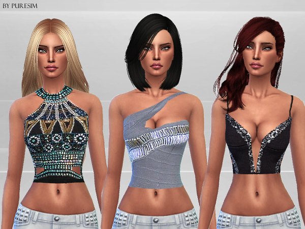 Embellished Tops by Puresim at TSR image 5413 Sims 4 Updates