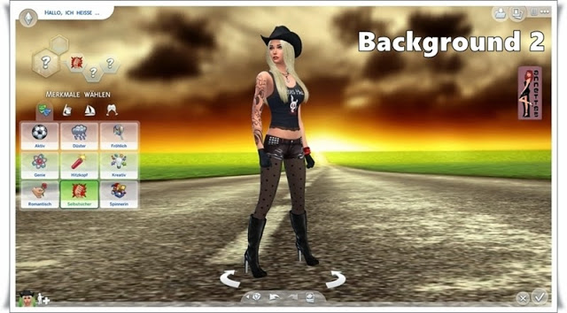 Road CAS Backgrounds at Annett's Sims 4 Welt image 544 Sims 4 Updates