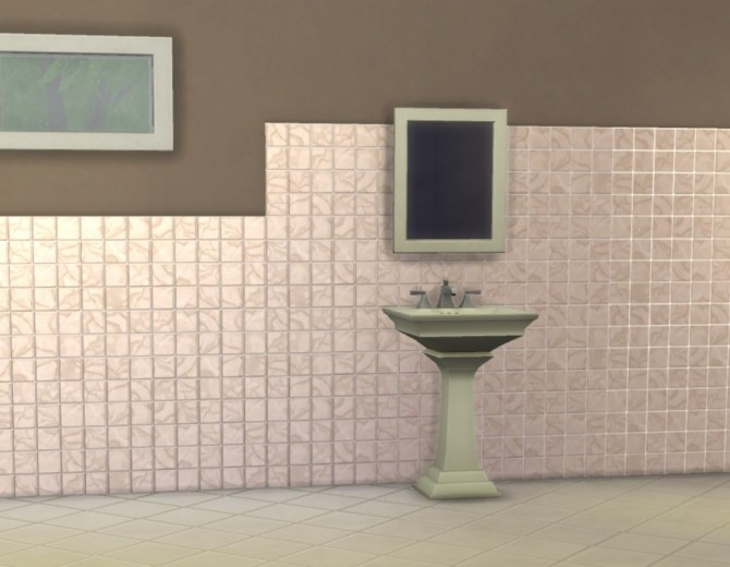 Modular Small Tiles Panels by plasticbox at Mod The Sims image 551 670x520 Sims 4 Updates