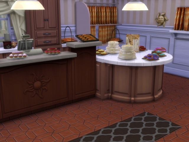 Morgenrot Cafe / Bakery by OldBox at All 4 Sims image 5510 Sims 4 Updates