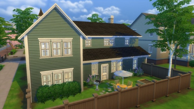 Sims 4 Green Way Cottage by RayanStar at Mod The Sims