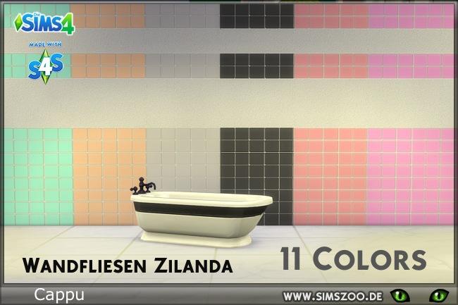 Zilanda tiles by Cappu at Blacky's Sims Zoo image 5521 Sims 4 Updates