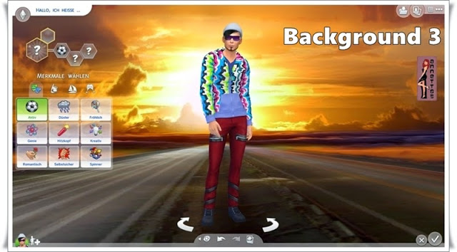 Road CAS Backgrounds at Annett's Sims 4 Welt image 554 Sims 4 Updates