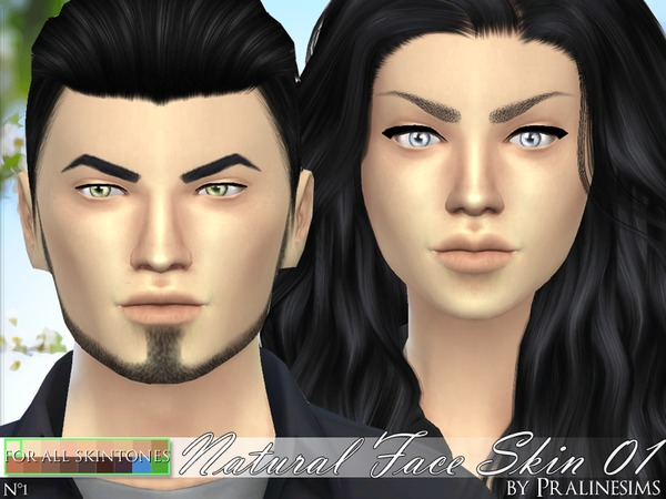PS Natural Face Skin 01 by Pralinesims at TSR image 560 Sims 4 Updates