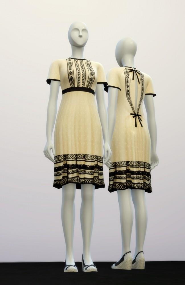 Sims 4 V.B. dress at Rusty Nail