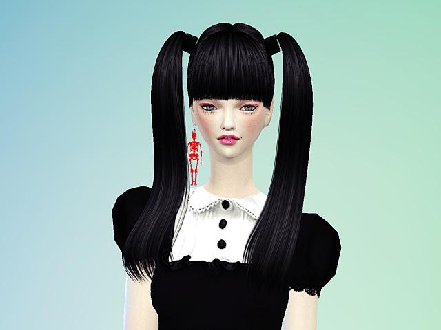 Skeleton earrings at Marigold image 570 Sims 4 Updates