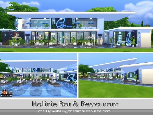 Sims 4 Hollinie Bar and Restaurant by autaki at TSR