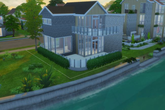 Sims 4 Ready to move in 2, house by ChiLLi at Blacky's Sims Zoo