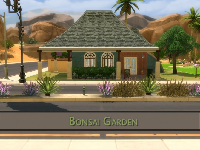 Bonsai Garden no CC house by Volvenom at Mod The Sims image 583 670x503 Sims 4 Updates