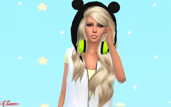 Sims 4 Sweety girl CAS Pose Creative by Clover at The Sims Lover