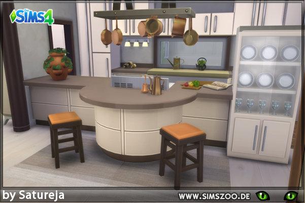 Tierra Kitchen by Satureja at Blacky\u0027s Sims Zoo » Sims 4 Updates