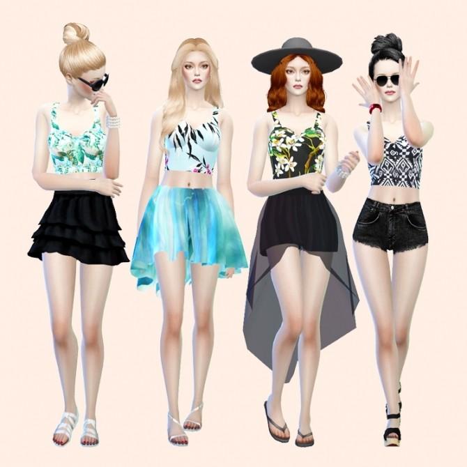 Приложения для симс 4 одежда