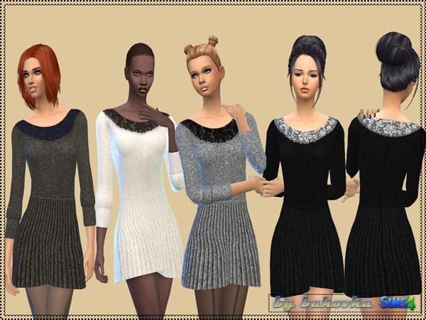 Sims 4 Dress Pleating by bukovka at TSR