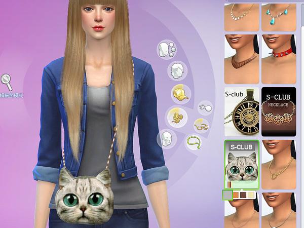 Bag N01 by S Club LL at TSR image 620 Sims 4 Updates
