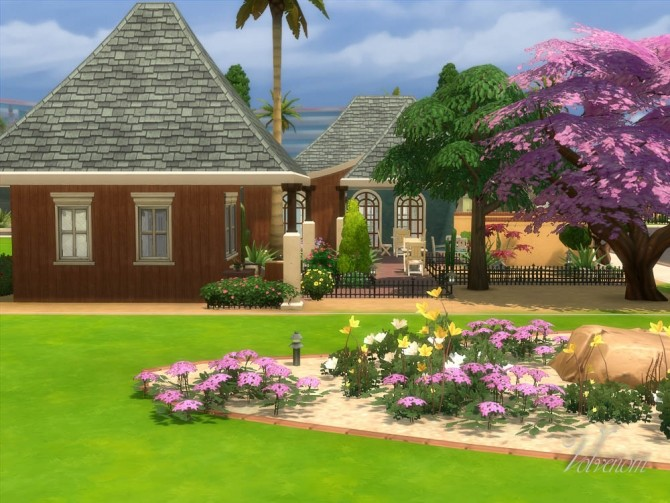 Bonsai Garden no CC house by Volvenom at Mod The Sims image 623 670x503 Sims 4 Updates