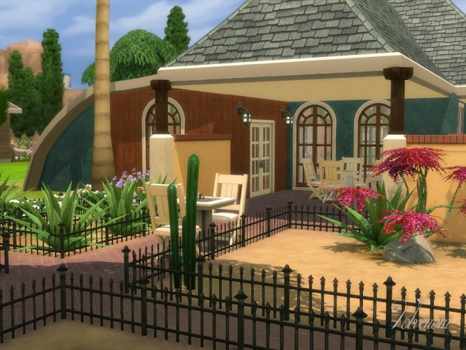 Bonsai Garden no CC house by Volvenom at Mod The Sims image 633 670x503 Sims 4 Updates