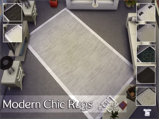 Modern Chic Rugs at Devirose Sims image 6410 670x503 Sims 4 Updates