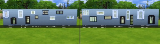 Sims 4 True Windows at Marvin Sims