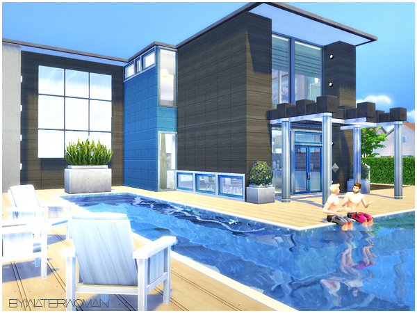 Sims 4 Donovan house by Waterwoman at Akisima