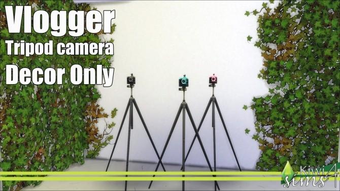 Vlogger tripod camera at Kiwi Sims 4 187 Sims 4 Updates : 651 670x377 from sims4updates.net size 670 x 377 jpeg 82kB