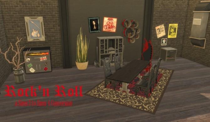 rock 39 n roll set at leander belgraves sims 4 updates. Black Bedroom Furniture Sets. Home Design Ideas