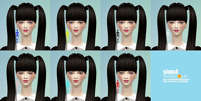 Skeleton earrings at Marigold image 670 Sims 4 Updates