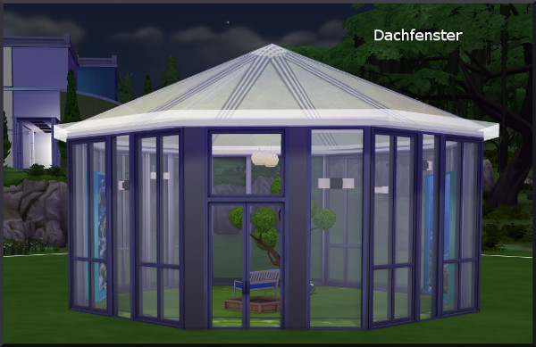 Glass roof by Christine1000 at Sims Marktplatz image 6712 Sims 4 Updates
