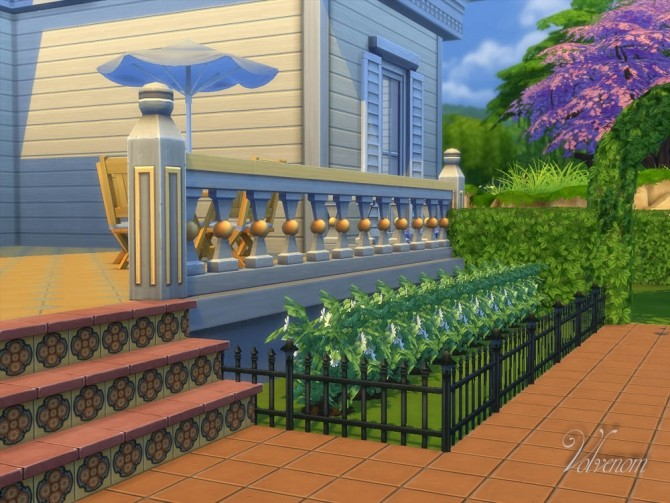 Sims 4 The Palladio Bakery and Cafe by Volvenom at Mod The Sims